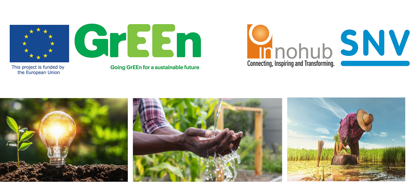 Innohub and SNV Ghana holds pitch day and graduation ceremony for cohort 1 participants of the GrEEn Acceleration Program